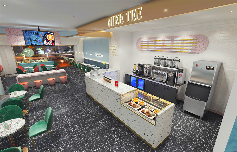 Dairy Tea Shop Decoration Must Look At These Three Methods So That The Space Obvious Big